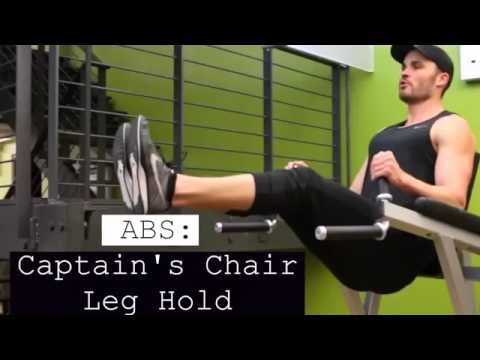 Abs Captain's Chair Leg Raises