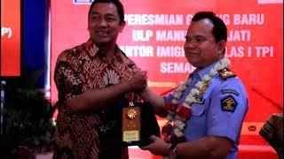 Peresmian Gedung Baru ULP Manunggal Jati Kantor Imigrasi Kelas I TPI Semarang