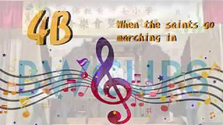 2018-2019 年度班際歌唱比賽 4B班