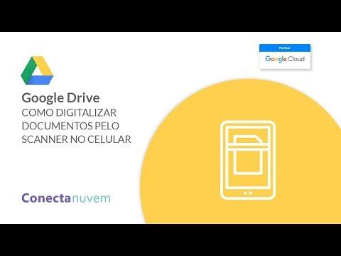 Como digitalizar documentos pelo Drive com o celular
