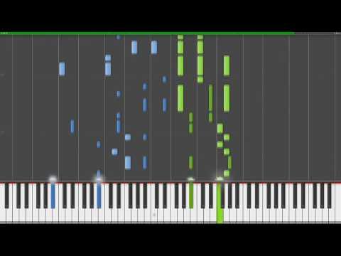 Sand Planet - Hatsune Miku Piano Synthesia