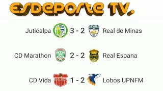Honduras Primera División  Resultados de Futbol de hoy