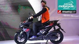 Yamaha Aerox 155 (NVX) at IMOS 2016