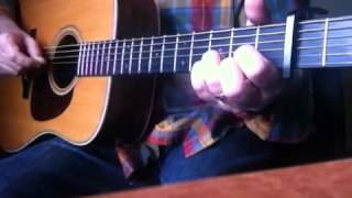 Rainy Day Man guitar lesson (James Taylor)