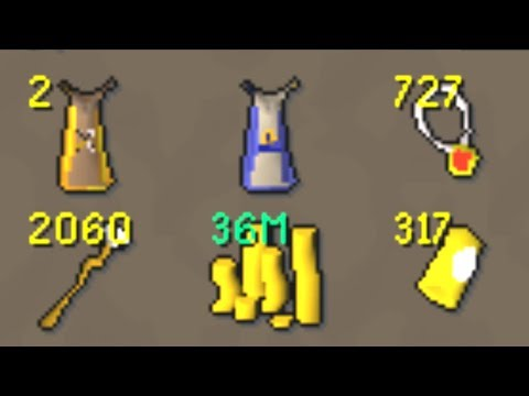 RuneScape Ironman: 99's and too much money