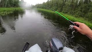 Рыбалка на Горной Реке водомётное путешествие часть 3