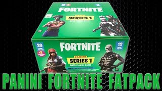 Panini FORTNITE TRADING CARDS SERIE 1 | FAT PACK DISPLAY BOX | Unboxing
