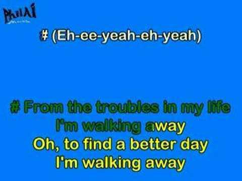 Graig David-Walkin away karaoke