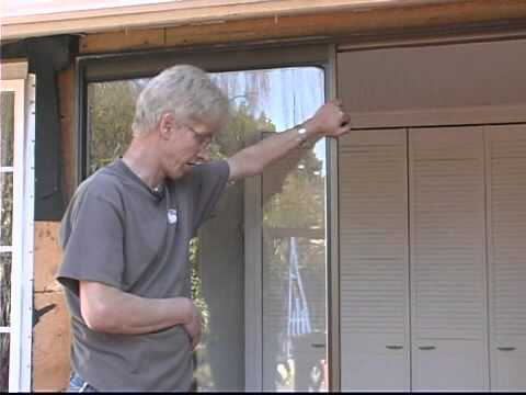 Replacing Sliding Glass Doors Removing The Jam Youtube