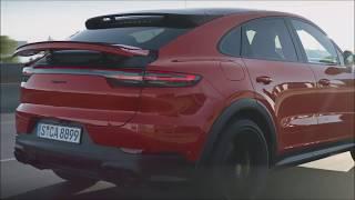 Porsche Cayenne Coupe 2020 интерьер Экстерьер и Драйв