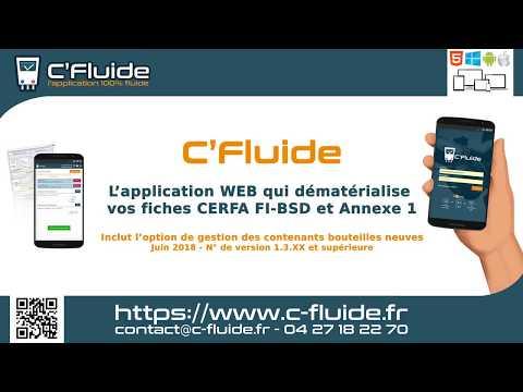 CFluide faire un CERFA FI BSD - v1.3.XX