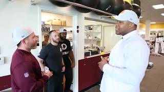 Daron Payne's First Day at Redskins Park