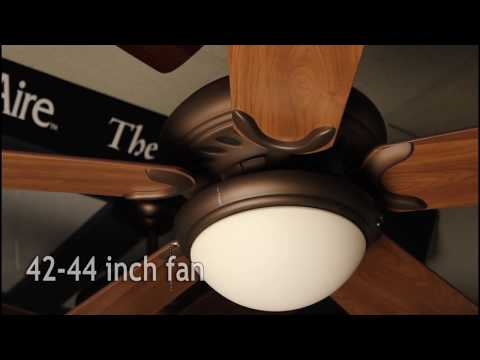 How to Size Your Ceiling Fan Blades