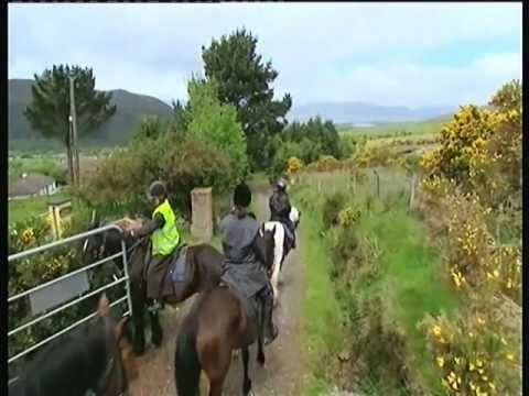 Killarney National Park Horse Tours & Horse riding vacations in Ireland