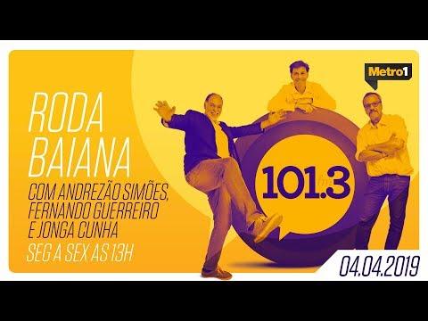 Roda Baiana - Antônio Roque, Cláudio Machado, Jõao Guisande e Marcelo Flores - 04/04/2019