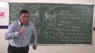 XI-9.7.Surface Tension part-1 (2014)Pradeep Kshetrapal Physics
