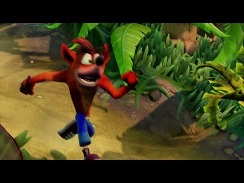 Crash Bandicoot N Sane Trilogy Reveal Trailer Poster