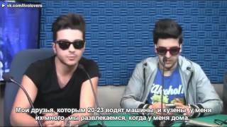 Интервью на радио Flor en 97 7Мехико, 2014 год (русские субтитры)