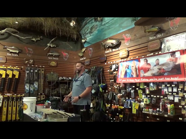 Bass Pro Shop Seminar April 13th 2019  | https://www.HubbardsMarina.com