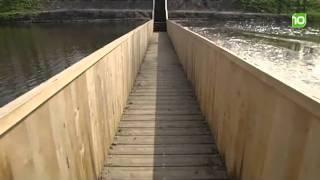 Мост ниже уровня воды в Голландии(Голландские инноваторы создали