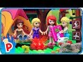 ♥ LEGO Disney Princess GO CAMPING Adventure Stop Motion Animation Cartoon for Kids