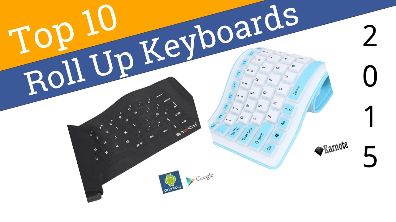10 Best Roll Up Keyboards 2015