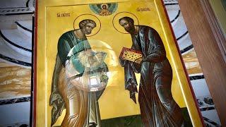 Всенощное бдение накануне праздника в честь св. первоверховных апп. Петра и Павла