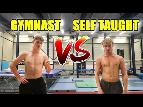 Gymnast VS Self Taught Flipper! Who's Better?!