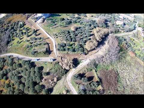 Molise / Montenero di Bisaccia / Frana / Acqua / Drone / Panoramica