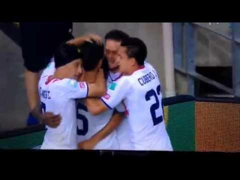 Uruguay 1 Costa Rica 3 (Marco Urena Goal) 84' (15/6/14) HQ