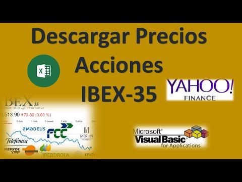 Macros Excel – VBA 3.- Descargar Cotizaciones de Yahoo Finance