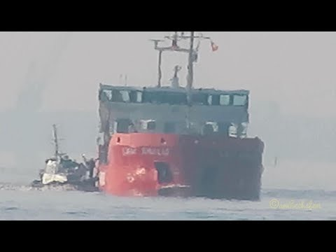 coaster LADY AMALIA PCNV IMO 9624847 Emden pilot boarding merchant vessel cargo seaship KüMo