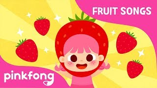 Strawberry - Very Berry Strawberry | Fruit Songs | Pinkfong Songs for Children