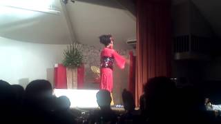 MISS TARA PERFORMING AT THE SOFIA PAGENT