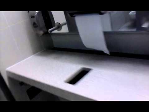 Flat Sink Florida International Airport YouTube - Bowless bathroom sink