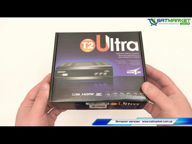 Видео обзор Romsat T2 Ultra