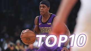 Los Angles Lakers Rajon Rondo Top 10 plays of 2018-19 season(Oct & Nov)