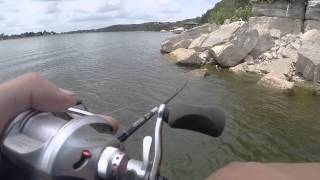 bass fishing lake granbury tx