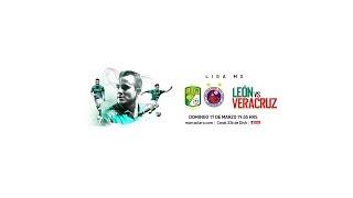 Liga MX León vs Veracruz en vivo
