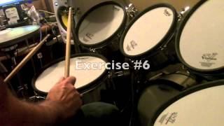 Drum Lesson: Easy Syncopated 16th note Rock Funk Drum Fills - PDF Drum Notation Included