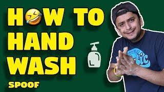 HOW TO HANDWASH Spoof | Call me Nemo