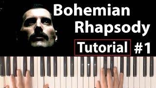 """Baixar Como tocar """"Bohemian Rhapsody""""(Queen) - Parte 1/4 - Piano tutorial, partitura y Mp3"""