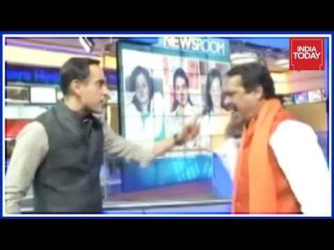 Exclusive : Rahul Kanwal & Hindu Yuva Vahini Chief Fierce Fight Over Moral Policing