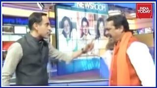 Exclusive : Rahul Kanwal & Hindu Yuva Vahini Chief Fierce Fight Over Moral Policing