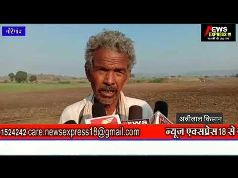 गोटेगांव क्षेत्र में पर्याप्त बिजली न मिलने से किसानों की फसलें हो रही बर्बाद
