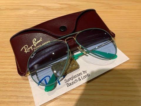 aviator-colors---flying-classic-vintage-b&l-ray-ban-sunglasses