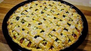 видео Пирог с капустой из дрожжевого теста - 8 рецептов открытого или закрытого пирога с фаршем, яйцом или рыбой