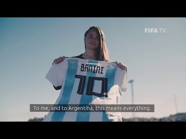 #FIFAWWC Player Promo | Estefania Banini | Argentina is ready!