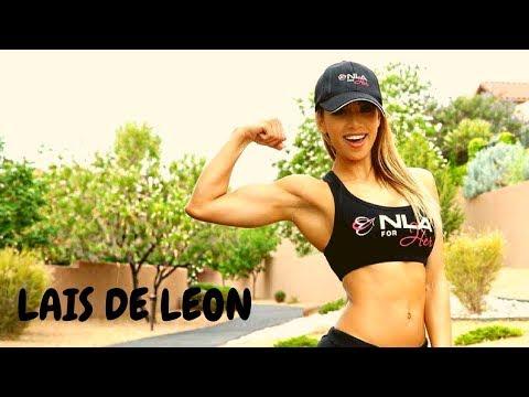 Gym Workout By Fitness Model LAIS DE LEON