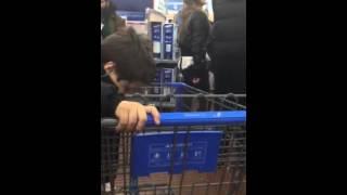 Walmart Vision SuperCenter Black Friday ok store 8500 Golf Rd, Niles IL 60714 11/27/2014 part 3
